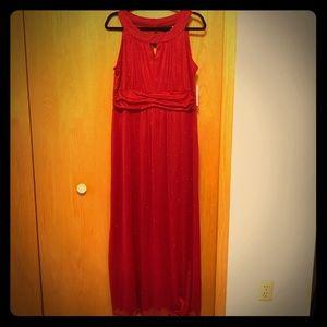Red Sparkle Dress by En Focus Studio